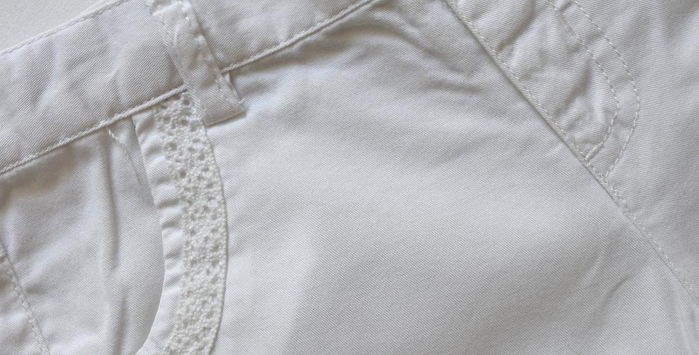 Biele kraťasy Basic