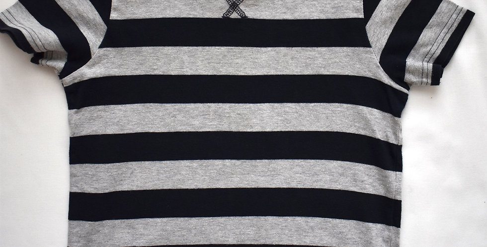 Stripe tričko Grey