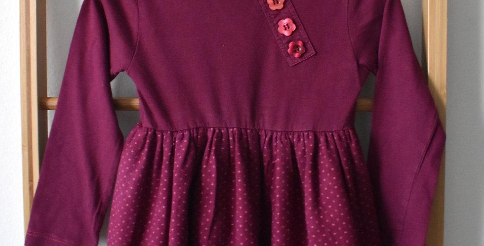Bavlnené šaty s gombíkmi