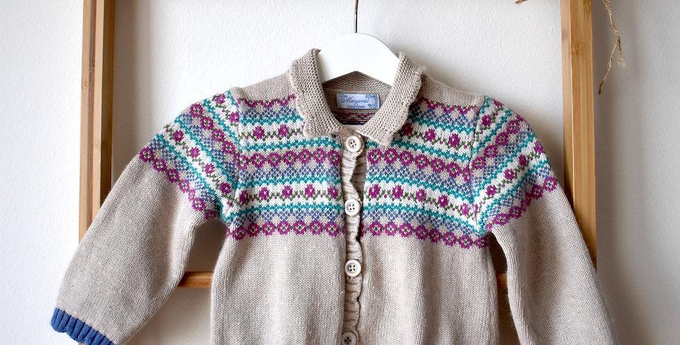 Mayoral predĺžený sveter s vreckami
