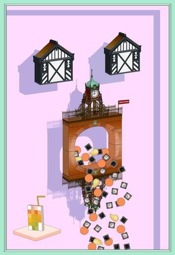 Eastgate Clock Vomit 2017
