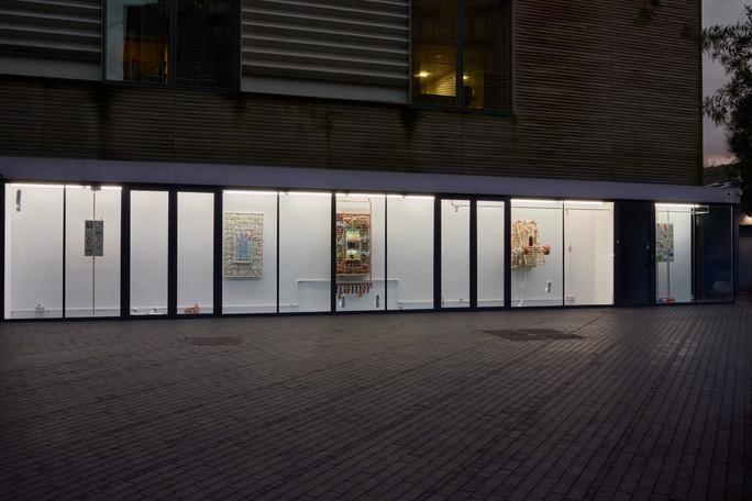 Installation View at Vitrine London