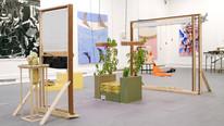 Basil Chair 2017  Installation view Slade Interim Show.
