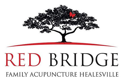 Red Bridge Family Acupuncture Logo