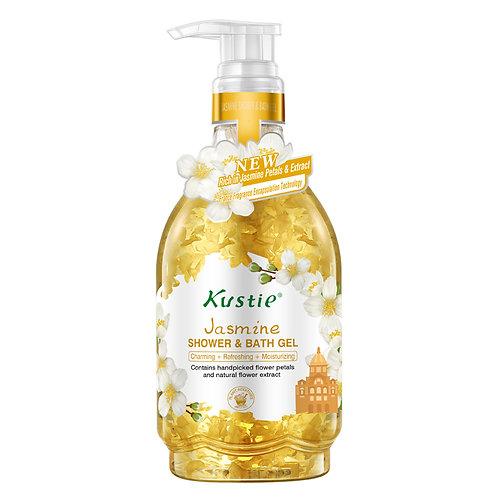 Kustie Jasmine Shower & Bath Gel 500ml (In Pump)