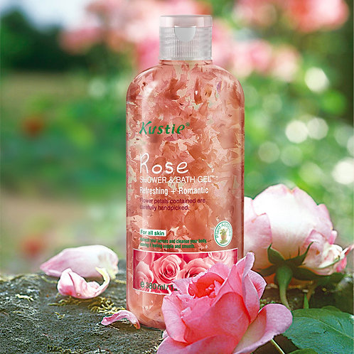 Kustie Rose Shower & Bath Gel 500ml