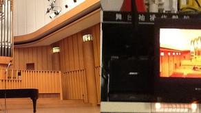 ピアノ&声楽の収録(府中の森芸術劇場)