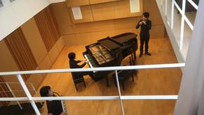 「おんがくしつトリオ」さん MV収録 Sala MASAKAさん
