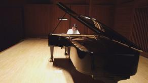 石原可奈子さんCDレコーディング 五反田文化センター音楽ホール