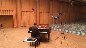 府中の森芸術劇場ウィーンホール(ピアノ&Voice レコーディング)
