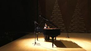 西井葉子さんピアノコンサート 越後妻有文化ホール「段十ろう」