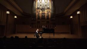 村上真希子さんピアノリサイタル 府中の森芸術劇場・ウィーンホール