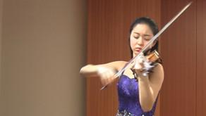 水野琴音さん ヴァイオリンリサイタル 紀尾井町サロンホール
