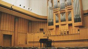 府中の森芸術劇場・ウィーン・ホールでの収録(Yutaka Tamaki)