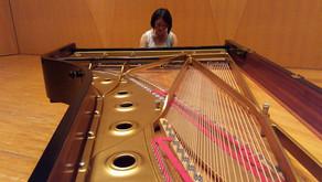 かながわアートホール CDレコーディング Masaé Gimbayashi-Barbotte(マサエ・銀林バルボット)さん