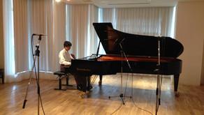 ピアノのステレオ録音について