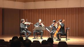 昴21弦楽四重奏団コンサート収録 トッパンホール