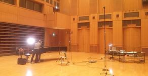 木村智明さん レコーディング かながわアートホール
