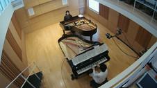 2台ピアノのレコーディング