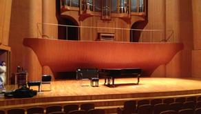 「ピアノ教室Dolce」ピアノ・コンサートの収録(川口リリア音楽ホール)