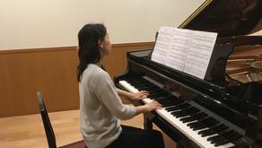 岡田裕子さん CDレコーディング 音楽サロンAriaさん