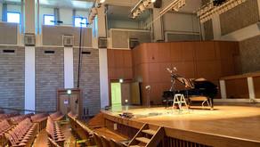 ピアノ・レコーディング 秩父ミューズパーク音楽堂