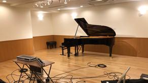 柊昇華さん1st Albumレコーディング (音楽サロンAria)