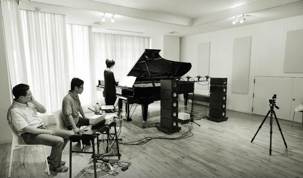 ベーゼンドルファーのライブレコーディング