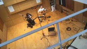 マンドリンとギター CDレコーディング at Sala MASAKA