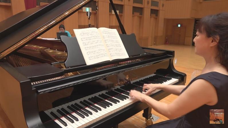 ピアノのCD録音