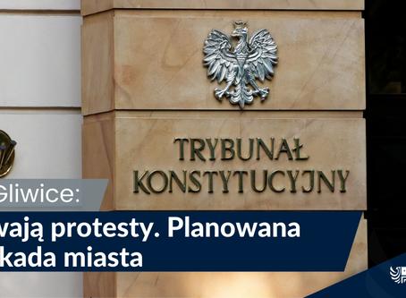 Protest w Gliwicach
