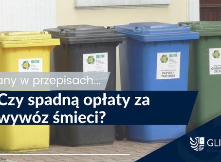 Czy spadną opłaty za śmieci?
