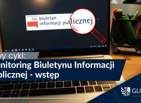 [Monitoring BIP] - nowy cykl