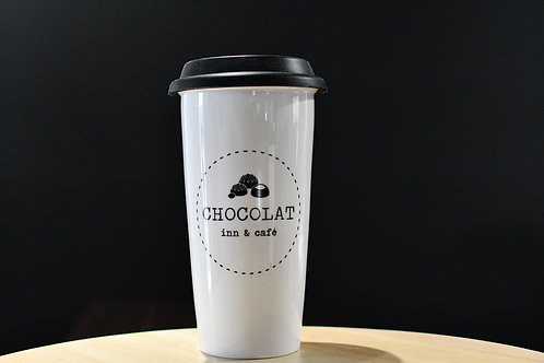 Chocolat Inn & Café Tumbler (white)