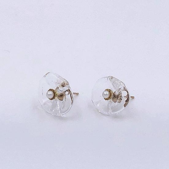 Glass Flower - Pearl