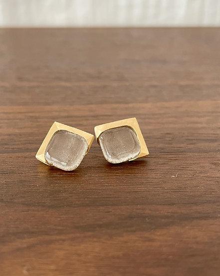 Small Square Gold