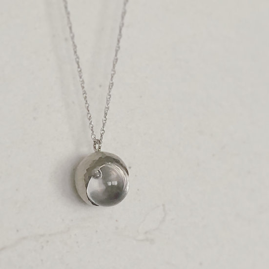 Drops Necklace White Gold