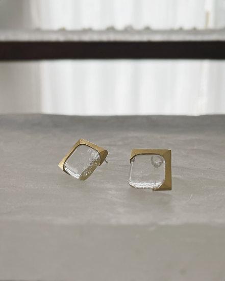 Small Square Brass