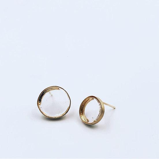 Bubble Earrings Gold