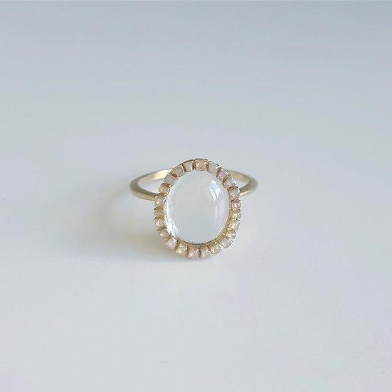 Mosaic Ring - Rim | Clear