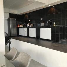 The upper kitchen