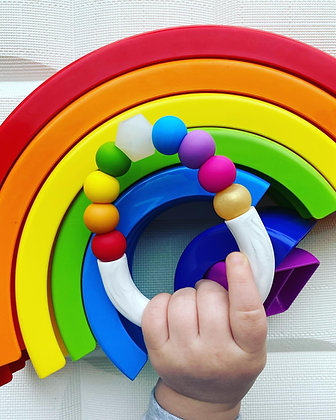The LUCKY Rainbow Teether