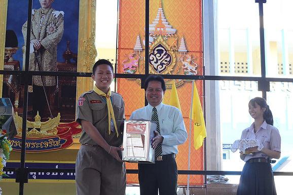มอบรางวัล กิจกรรมการแข่งขันในวันวิทยาศาสตร์แห่งชาติปี2562