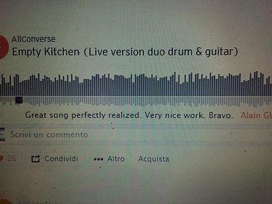 commento su soundcloud