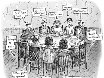 Thank you, Roz Chast, for helping me point out why cider could save Thanksgiving