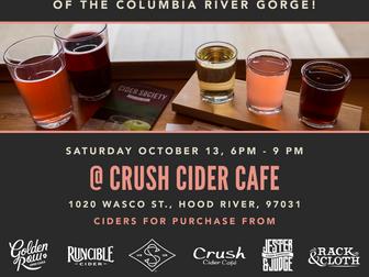 Saturday, October 13 -- Cider & Dinner after the Harvest Fest!