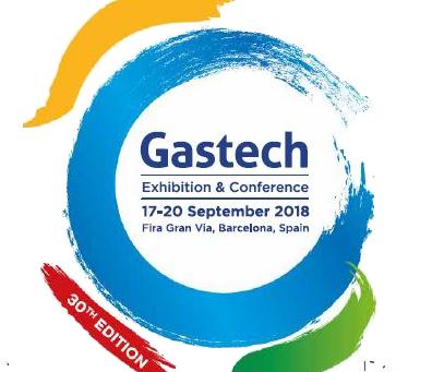 Gastech Exhibition, Barcelona - NEXT WEEK!