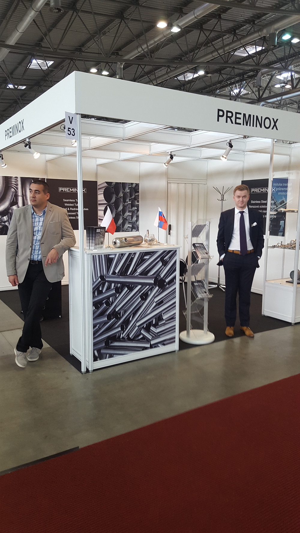 Preminox at Stainless 2017 Brno