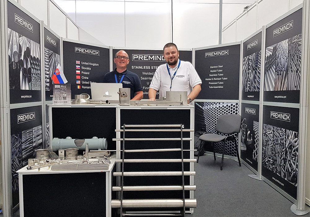 SPI PREMINOX Stainless Steel Tubes at Achema Exhibition Germany