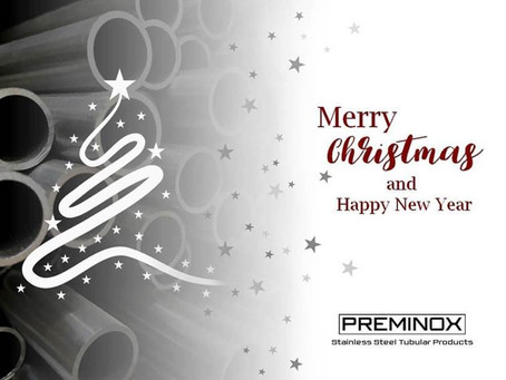 Merry Christmas and Happy New Year from PREMINOX